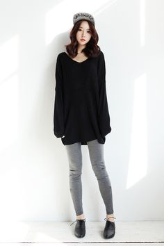 I would wear something like this for travel days. Comfortable enough for a road trip or plane ride, yet still cute.