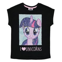 Girls My Little Pony Flip Sequin T Shirt