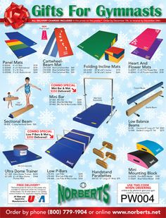 Gymnastics Equipment Links