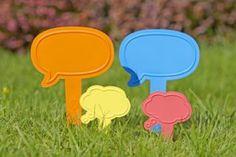 Think & Talk XALA plantsticks. Let your plants do the talk!