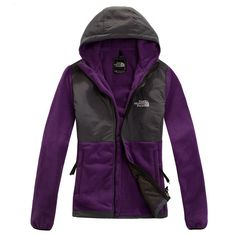 #BOX SALE,Cheap The North Face Denali Purple Hoodie outlet $89.99