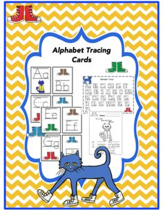 Alphabet Tracing Cards from Preschool Printables on TeachersNotebook.com -  (17 pages)  - Free product for all my followers who continue to rate my products and leave feedback, couldn't get where I am today without all your support.  Hope your students enjoy the printables.