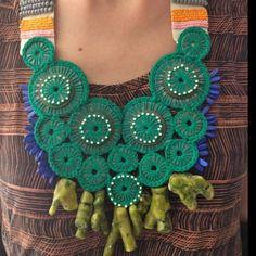 Necklace by Tiaan Nagel Crochet Necklace, My Style, Jewelry, Fashion, Moda, Bijoux, Jewlery, Fasion, Jewels