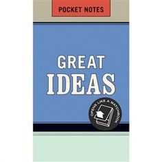Pocket Notes - Great Idea   Paper Products Online