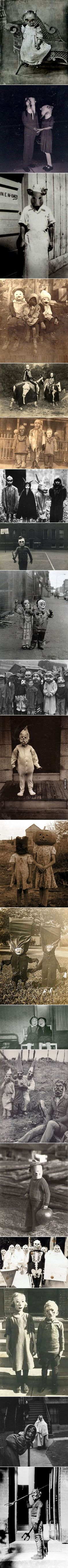 How haloween costumes once looked like, 20's kids will remember
