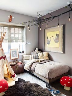 About the coolest kid's room I've ever seen; I want to move in myself.