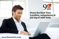 Know your Field Staff Real Time Location with 9AM Tracking Software. For any Information Click on bit.ly/1RsdDzq & Call at 0120-4282274