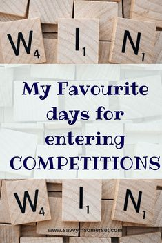 Ever wondered what the best days to enter competitions are? Read on to discover the two days a week I focus on comping Comping is the name given to consistently entering loads of competitions to try and win prizes and is something I enjoy doing. However,