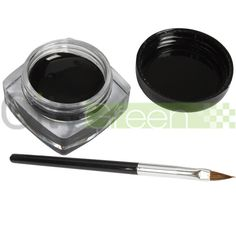 'Pro Black Eye Liner Eyeliner Shadow & brush' is going up for auction at  8pm Wed, Dec 19 with a starting bid of $5.