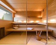 Znalezione obrazy dla zapytania sauna yacht Private Sauna, Bunk Beds, Divider, Stairs, Furniture, Home Decor, Asylum, Stairway, Decoration Home