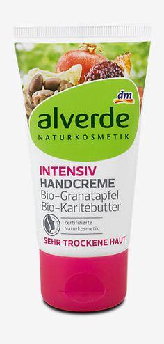 alverde Intensiv Handcreme Bio-Granatapfel Bio-Karitébutter, Hand- & Nagelpflege, Handpflege im dm Online Shop kaufen.