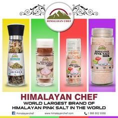 Himalayanchef have a collection of Himalayan Pink Salt products like pink salt grinders and many more purest pink salt products that are most beneficial for health and fitness. #pinksalt #saltgrinder #organiccollection http://www.himalayanchef.com/