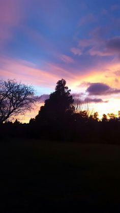 Winter sunrise White Pines