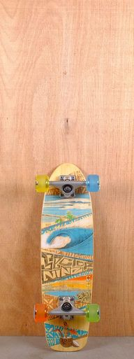 """The Sector 9 27"""" Bambino Bamboo is designed for carving and cruising."""