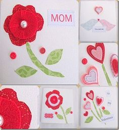 #Valentine #card Crafts a la mode