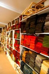 If you need hand-dyed wool matched in exactly a certain color, mail a sample to Janice Lee at Black Horse Antiques and Rug Hooking and she'll make it happen!  She's amazing, and she has hundreds of rug patterns, too.
