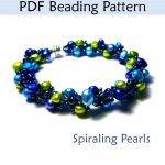 Spiraling Pearls PDF Beading Pattern