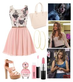 """""""Alison Dilaurentis"""" by darth-padme-amidala ❤ liked on Polyvore featuring Lana, Forever 21, MAC Cosmetics, Charlotte Russe and Marc Jacobs"""