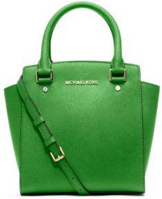 Michael Michael Kors Handbag, Selma Large Messenger Bag