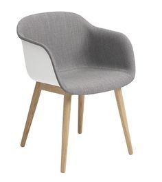 Muuto Fiber - Wood Base - Front Upholstery | mintroom.de #Muuto #mintroom #shop #stühle #plastic #holz #alle