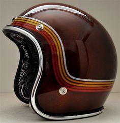 Open face #helmet #motorcycles #motos | caferacerpasion.com