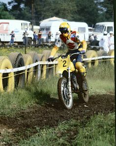 Roger De Coster - Vintage Suzuki Motocross