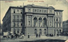 Timisoara - Teatrul / Ferencz Jozsef szinhaz. 1919
