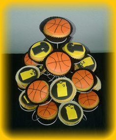 Voor de basketbal