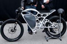 Airbus présente une moto faite en impression 3D