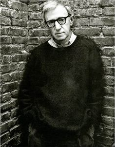 mark seliger / woody allen -repinned by Los Angeles County, California photography studio http://LinneaLenkus.com #fineartphotography