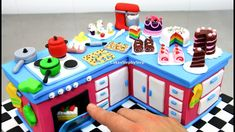 How To Make a KITCHEN CAKE with Miniature Cakes by CakesStepbyStep - YouTube