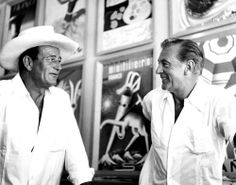 John Wayne and Gary Cooper