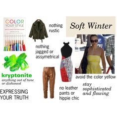 """""""Soft Winter's Must Avoids"""" by expressingyourtruth on Polyvore"""