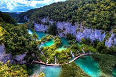 Plitvice Lakes, Croatia - see more photos on our blog!