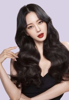 Han Ye Seul, Asian Woman, Asian Beauty, Actors & Actresses, Celebrity, Photoshoot, Long Hair Styles, Portrait, Beautiful