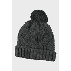 Gebreide muts met wol | Veritas Crochet Hats, Beanie, Fashion, Pom Poms, Knitting Hats, Moda, Fashion Styles, Beanies, Fashion Illustrations
