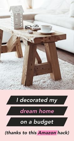 I decorated my dream home on a budget (thanks to this Amazon hack) (scheduled via http://www.tailwindapp.com?utm_source=pinterest&utm_medium=twpin)