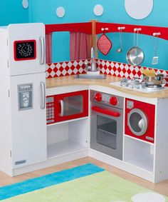 Red Grand Gourmet Kitchen by KidKraft on #zulily