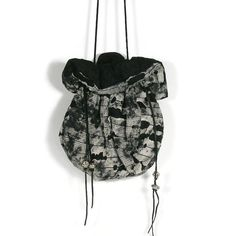 Steampunk Pouch Goth Pouch Crossbody Pouch Steampunk Bucket Bag Goth Bucket Bag Steampunk Purses Gray and Black Pouch Purse Bucket Bag Purse by LooptheLoop on Etsy My new bucket bag collection