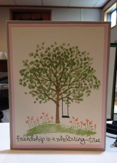 SU! Sheltering Tree from the Occasions Catalog 2015.  So much fun.  Available 1/6/15 thru 6/2/15.