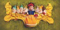 Disney Snow White newborn photography