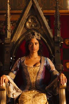 "medievalpoc: "" Fiction Week! Angel Coulby as Gwen in Merlin (2008-2012) """