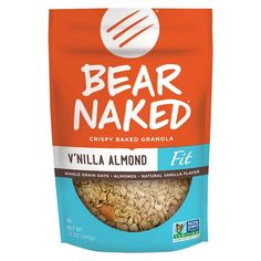 Bear Naked Fit Vanilla Almond Crunch Whole Grain Granola 12 oz