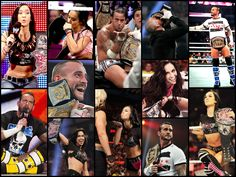 Not so different after all? #CMPUNK #AJLEE #WWE