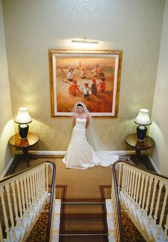Welcome to The Castle Oaks House Hotel in Limerick. Located in Castleconnell, beside the River Shannon, our manor house is the perfect destination. Oaks House, Country House Hotels, Bridal Photography, Beautiful Bride, Castle, Stairs, Weddings, Vintage, Stairway
