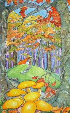 Autumn Comes to the Wood