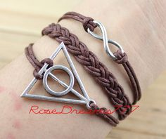 Harry Potter braceletowl braceletantique bronze by rosedreams777, $3.99