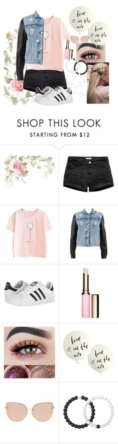 """Balloon shirt"" by howtofly ❤ liked on Polyvore featuring H&M, rag & bone, adidas, Clarins, Kate Spade, Topshop, Lokai and Umbra"