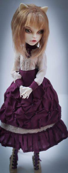 """https://flic.kr/p/kyaf4e   Monster High Catrine DeMew ooak   custom """"traveler"""""""