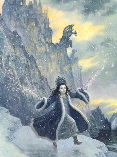 çizgili masallar: The Snow Princess by Ruth Sanderson